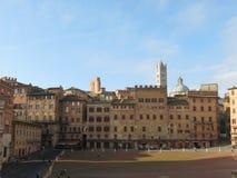 Siena, Piazza del Campo Stock Image