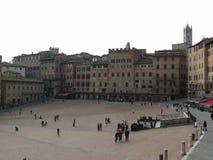 Siena, Piazza del Campo Royalty Free Stock Photo