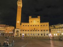 Siena, Piazza del Campo Royalty Free Stock Photography