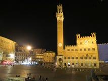 Siena, Piazza del Campo Royalty Free Stock Photos