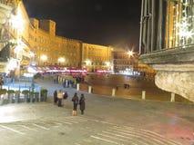 Siena, Piazza del Campo Royalty Free Stock Image