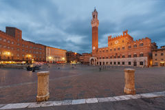 Siena. Piazza del Campo, Siena, Italy royalty free stock photography