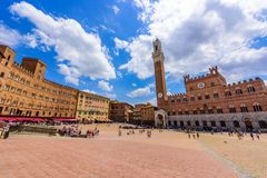 Free Siena -  Piazza Del Campo - Old Historic City In Italy Royalty Free Stock Photos - 160549308