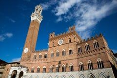 Siena. Piazza del campo - Siena, Tuscany - Italy royalty free stock photos