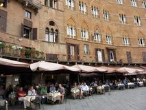 Siena Plaza Stock Photography