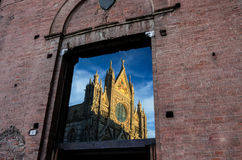 Siena's cathedral Royalty Free Stock Image