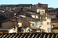 Siena's roofs Royalty Free Stock Photography