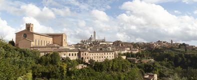 Siena skyline Stock Photo