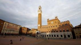 Siena square stock footage