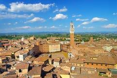 Siena stad royalty-vrije stock afbeeldingen
