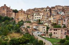 Siena stad Royaltyfria Bilder