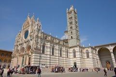 Siena strömförsörjningsdomkyrka Royaltyfri Fotografi