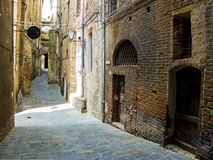 Siena street. Siena, Italy Stock Photography