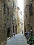 Siena street. Siena, Italy Royalty Free Stock Photos