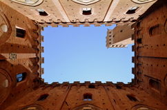 Siena Torre Del Mangia, Toscana Royalty Free Stock Images