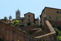 Siena, Toscânia, Italia, paisagem fotos de stock royalty free