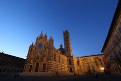Siena, Toscana, Italia, cattedrale Fotografia Stock Libera da Diritti
