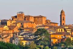 Siena - Toscanië Stock Foto