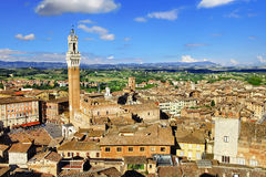 Siena, Toscânia Imagem de Stock Royalty Free