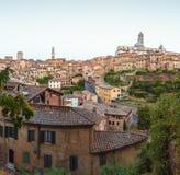 Siena in Toskana lizenzfreies stockbild
