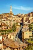 Siena, Toskana, Italien stockbild