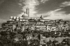 Siena, Toskana, Italien lizenzfreie stockfotos