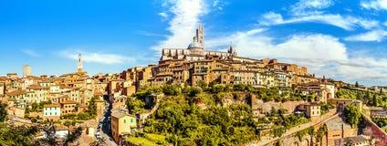 Siena, Toskana, Italien Stockbilder