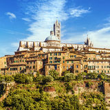 Siena, Toskana, Italien lizenzfreie stockfotografie