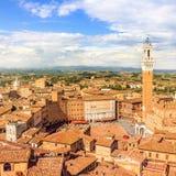 Siena, Toskana, Italien stockfoto