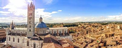 Siena, Toskana, Italien stockfotografie