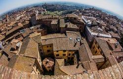Siena, Toskaneres, Italien Stockfotos