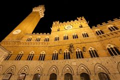 Siena tower Royalty Free Stock Photography