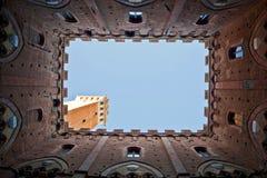 Siena tower Stock Image