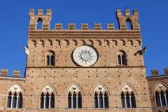 Siena town hall Stock Photo