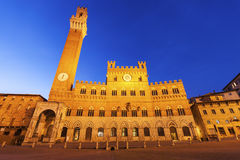 Siena town hall Royalty Free Stock Photo
