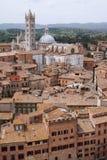 Siena town Royalty Free Stock Photo