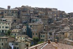 Siena in Tuscany Stock Images