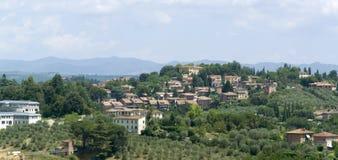 Siena in Tuscany Royalty Free Stock Photos
