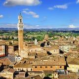 siena tuscany Fotografering för Bildbyråer