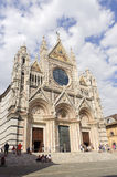 Siena (Tuscany, Italy) - Duomo Royalty Free Stock Photo
