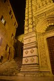 Siena, Tuscany, Italy. Duomo cathedral by night Stock Image