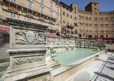 Siena tuscany italy europe source gaia Royalty Free Stock Images