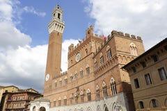 Siena (Tuscany, Italy) - Il Campo Royalty Free Stock Images