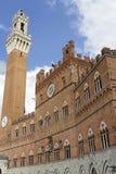 Siena (Tuscany, Italy) - Il Campo Stock Photo