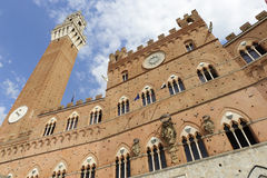 Siena (Tuscany, Italy) - Il Campo Royalty Free Stock Photo