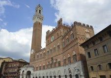 Siena (Tuscany, Italy) - Il Campo Stock Photography