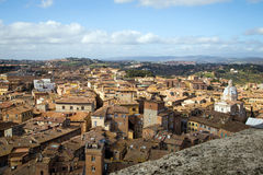 Siena in Tuscany, Italy Stock Photo