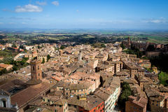 Siena in Tuscany, Italy Stock Photos