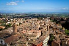 Siena in Tuscany, Italy Stock Photos
