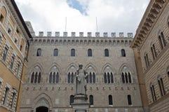 Siena (Tuscany, Italy) - Piazza Salimbeni Royalty Free Stock Images